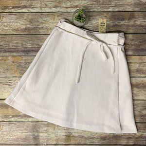 NWT Vintage Express White Full Wrap A-Line Skirt